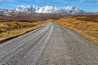The Road to An Teallach