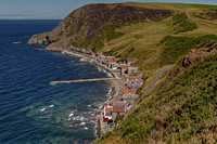 Crovie Clifftop