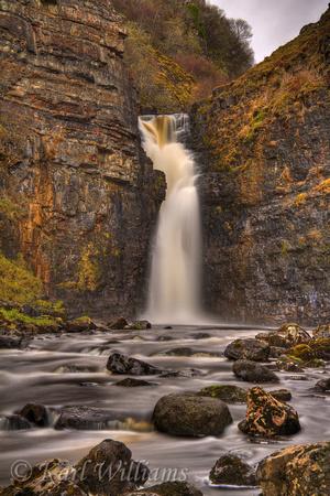 Bride S Veil Waterfall On Skye